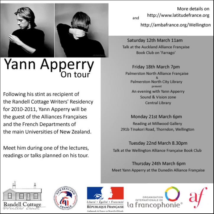 Yann Apperry on Tour