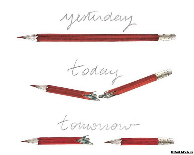 Hebdo cartoon by Lucille Clerc