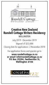 Applications for the 2019 residency are open.