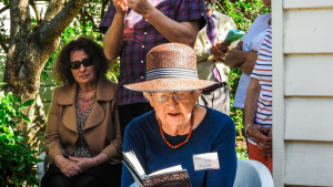 Fiona Kidman reading